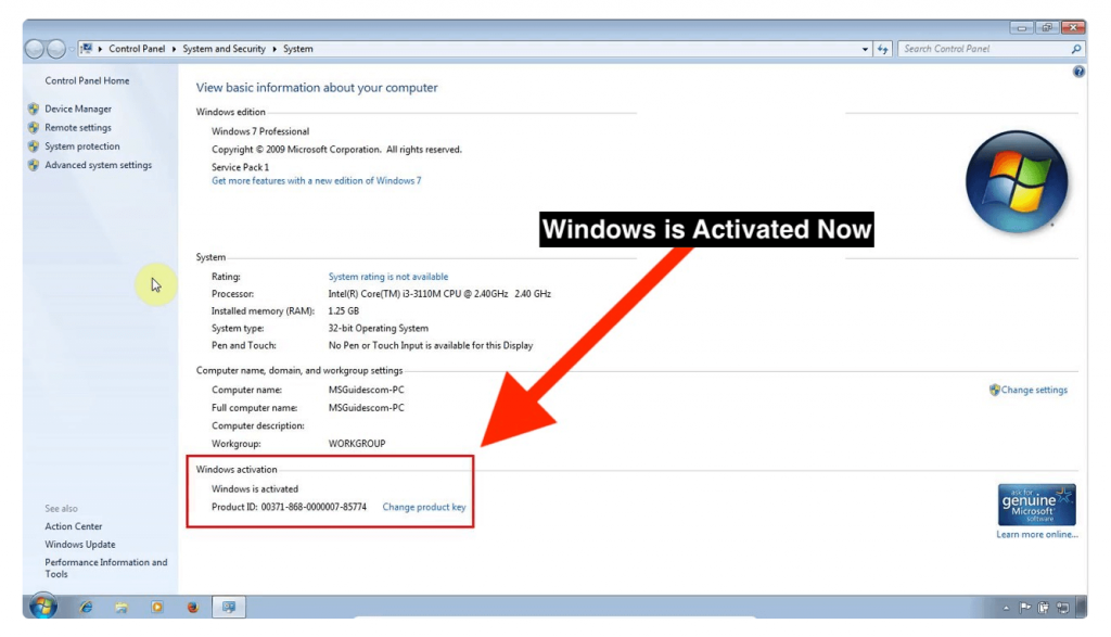 WIndows-7-is-Activated-by-Windows-loader