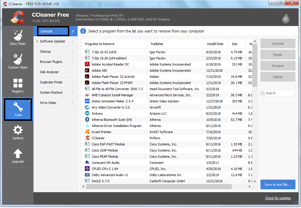 go-to-uninstall-in-ccleaner